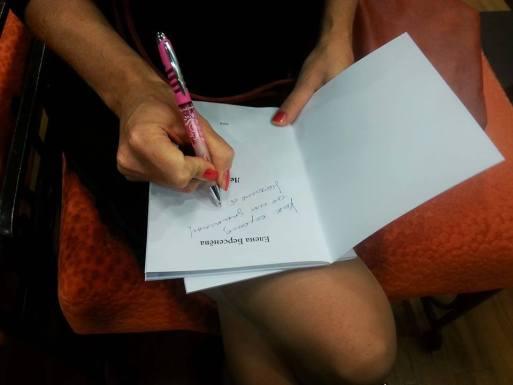 Презентация книжки Елены Берсенёвой. Фото Ирины Мезенцевой