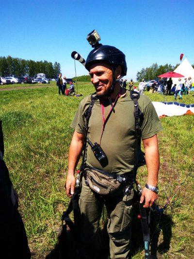 Открытие сезона полётов Александра Орлова. Фото Густаво Зырянова