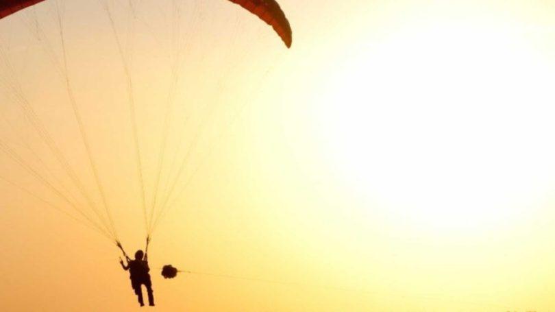 6 ярких полетов парапланериста Александра Орлова