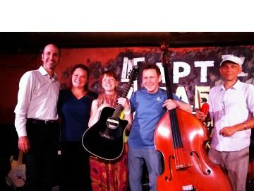 Анна Ширяева, Михаил Гриневич — концерт 25 июня 2017 в Артпабе. Фото Елены Берсенёвой