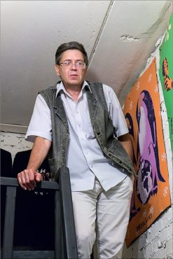 Станислав Михайлов на Чёрной речке. Фото Александра Симушкина