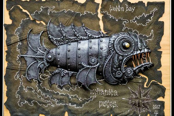 Нашествие механических рыб в галерею JAZZIUM
