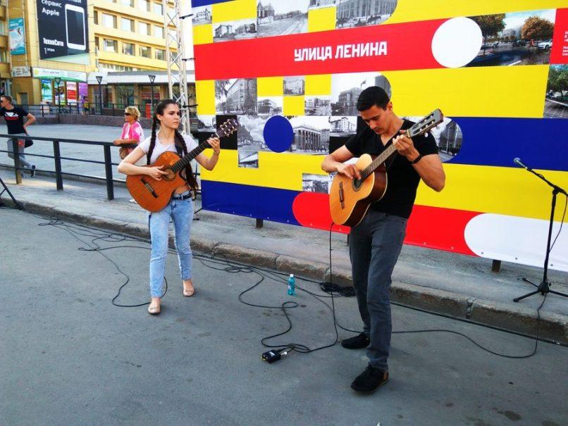 Panic Bach, гитарный дуэт. Фото Елены Берсенёвой