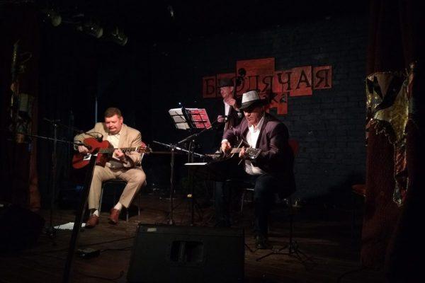 NSK Hot Club Band в Бродячей собаке. Выступление 1 октября 2017