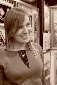 Татьяна Данилочкина. Творческий вечер Юрия Татаренко в галерее Джазиум. Фото Александра Симушкина