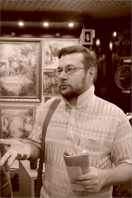 Творческий вечер Юрия Татаренко в галерее Джазиум. Фото Александра Симушкина
