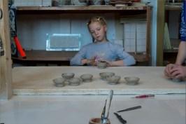 В мастерской художника-керамиста Валерия Кузнецова. Фото Александра Симушкина