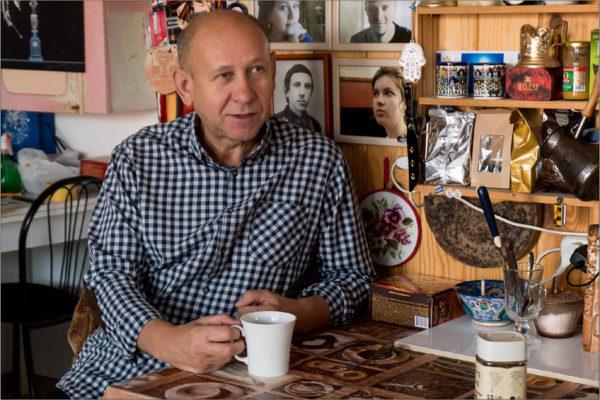 Встреча в мастерской художника-керамиста Валерия Кузнецова