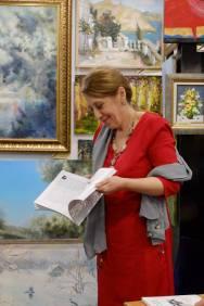 Встреча с художником Валерием Кузнецовым в галерее Джазиум. Фото Александра Симушкина