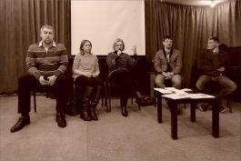 Роман Шамолин, Анна Павловец, Анна Булычева, Александр Федчук, Олег Шелудяков. Фото Александра Симушкина
