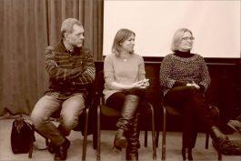 Константин Скотников, Анна Павловец, Анна Булычева. Фото Александра Симушкина