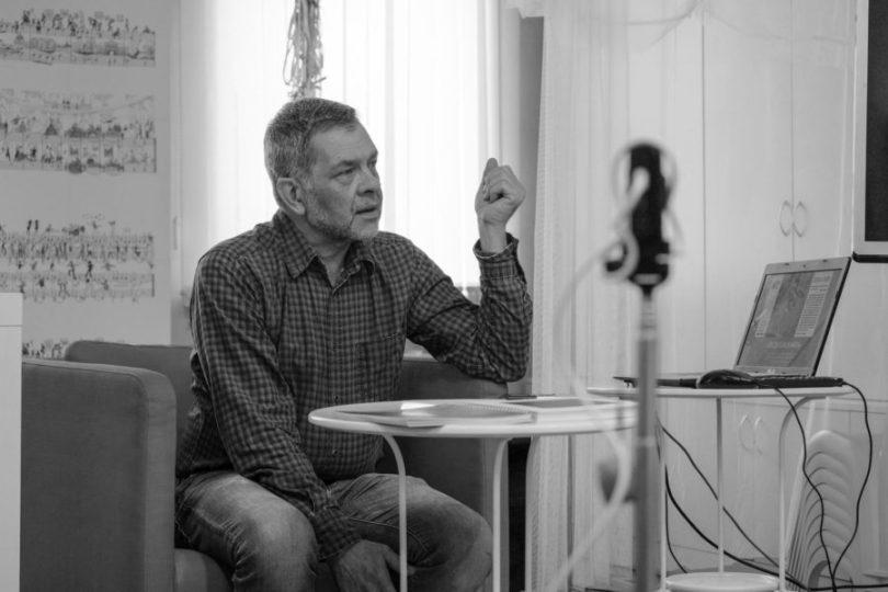 Художник Константин Скотников в проекте «Люди как книги»