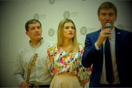 Владимир Хуторной, Елена Кернер, Антон Веселов. Фото Александра Симушкина