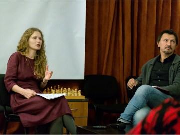 Екатерина Авсейко, Александр Федчук. Фото Александра Симушкина