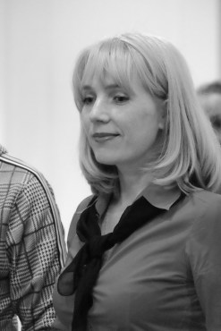 Елена Берсенёва. Выставка Анастасии Гуровой Фото Александра Симушкина