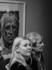 Выставка Евгения Назимко в СХР. Фото Алексея Школдина