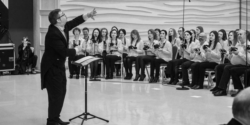 Концерт «Фортепиано.Фотоаппарат». Фото Алексея Школдина