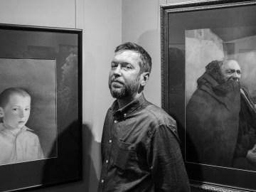 Выставка Евгения Молодина в СХР. Фото Алексея Школдина