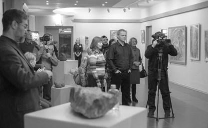 Выставка Эдуарда Логинова. Фото Ольги Левыкиной