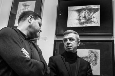 Выставка Владимира Хананова в ГЦИИ Фото: Алексей Школдин