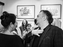 Выставка Сергея Мосиенко в Гостиной Союза художников. Фото Алексея Школдина