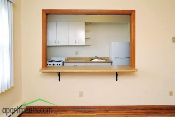 Breakfast bar - 1 Bedroom apartment