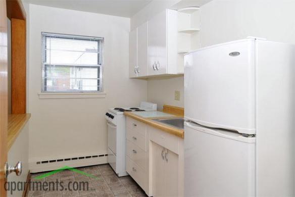 Kitchen view 1 - 1 Bedroom apartment