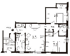 2 Bedroom apartment floor plan2 Bedroom Apartment Floor Plan   Sibley Manor. 2 Bedroom Apartment Floor Plans. Home Design Ideas