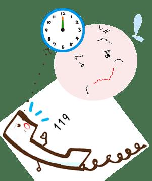 時刻の確認