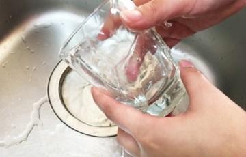コップ洗い