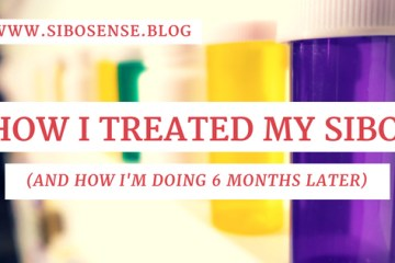 Learn how I treated my SIBO with antibiotics, prokinetics, and partially hydrolyzed guar gum.