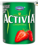 activia probiotic yogurt for SIBO