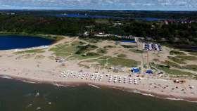 Пляж Baia Blu в Леричи