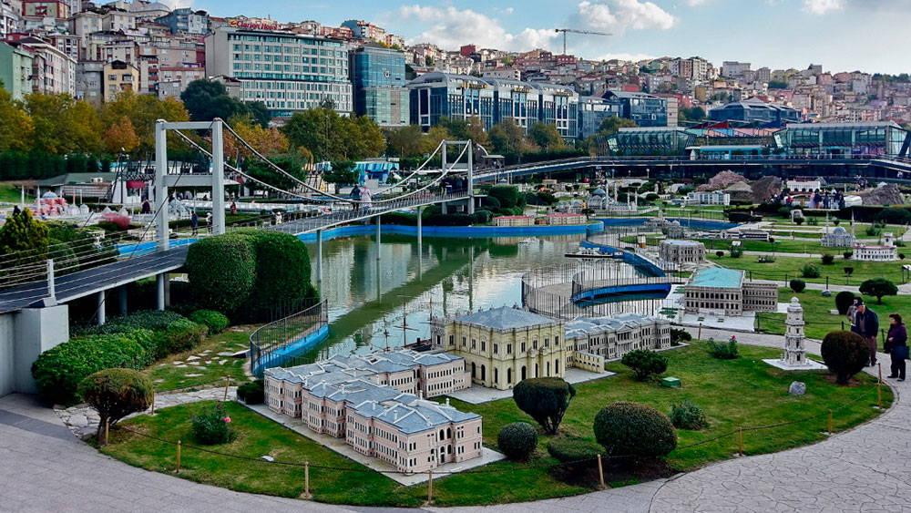 Парк Миниатюрк (Miniatürk) в Стамбуле