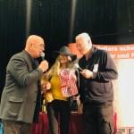 auf der Bühne mit Otto Retzer und Toni Polster