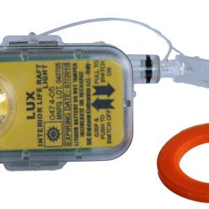 Lux (luce interna per zattere omologata solas) - Meter