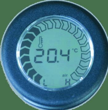 Strumento indicatore temperatura aria , compatibile con epsd0035 (riprogrammabile) - Voltmeter
