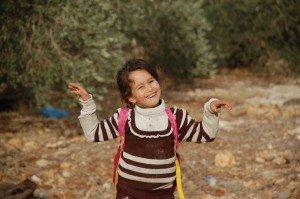 little girl in Jayyous
