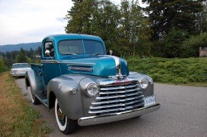 Jim's restored 1947 Mercury Pickup
