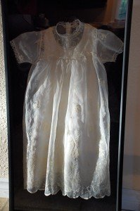 My baptismal gown