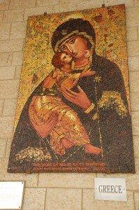 the church of the Nativity in Nazareth