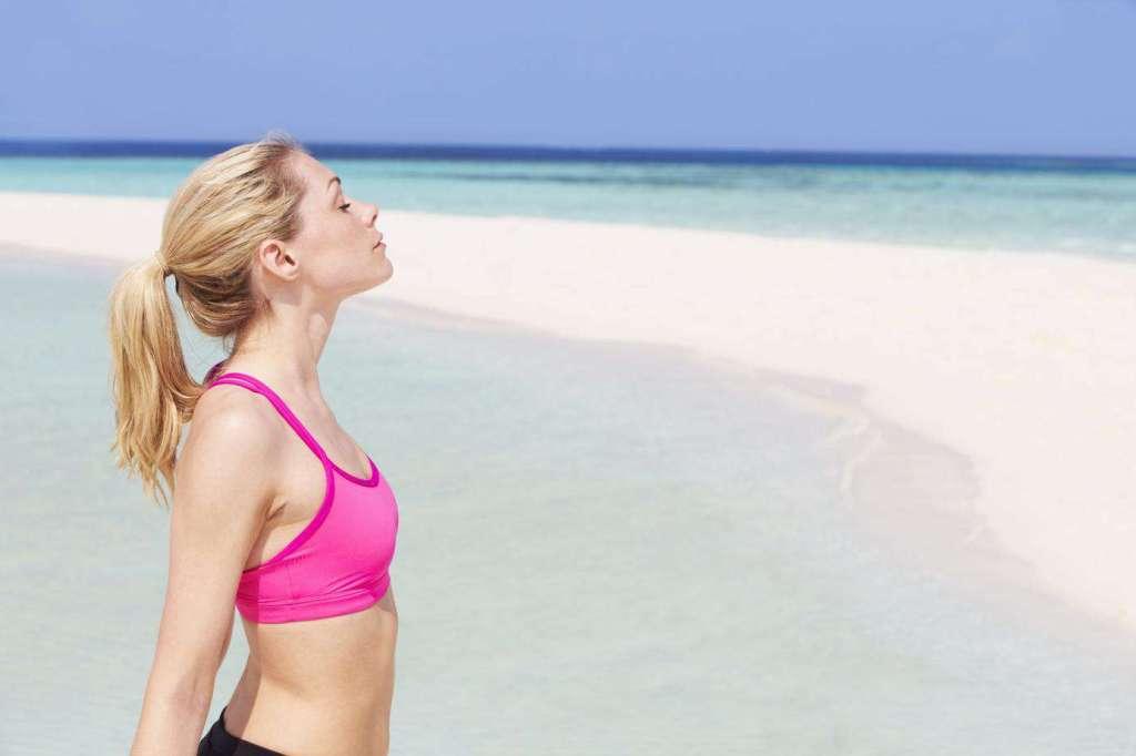 spontan entspannen und die Ruhe am Strand genießen