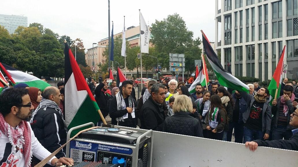 3demo palästina ddorf