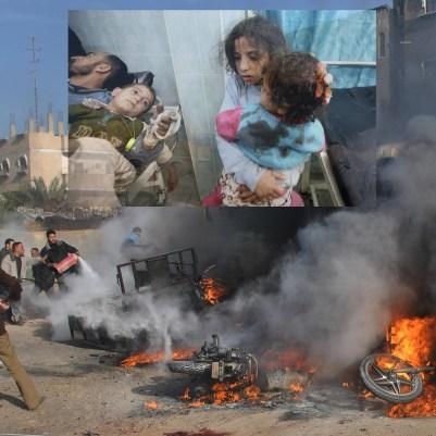 gaza air strike photo