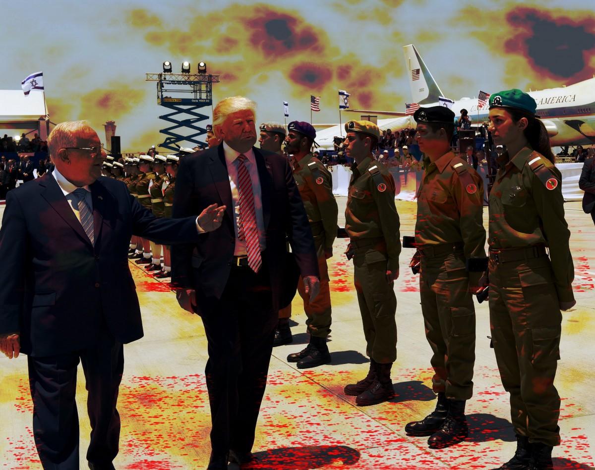 palestine trump
