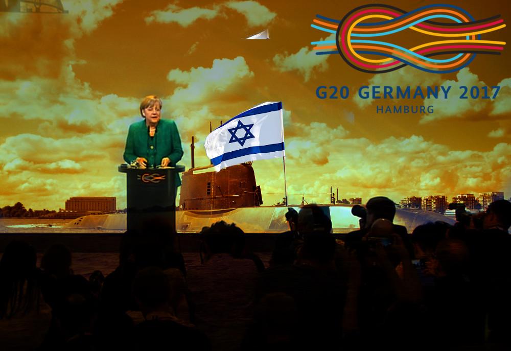 Merkel israel uboot g20