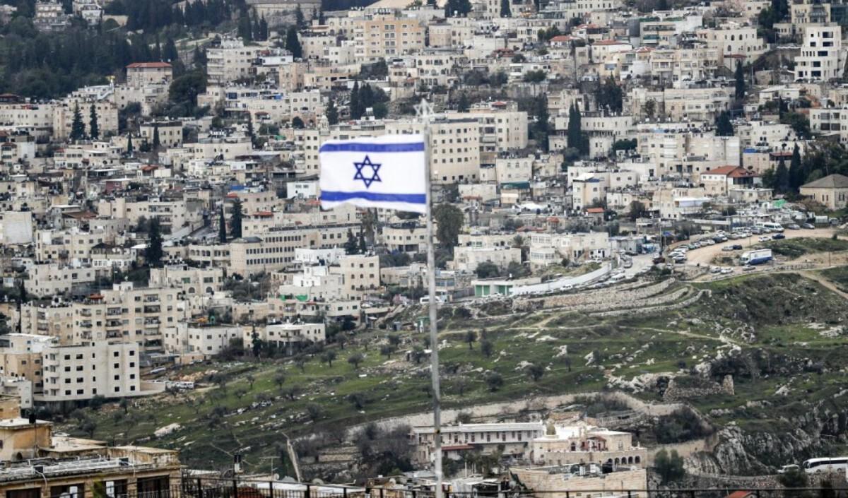israel flag 2020 afp