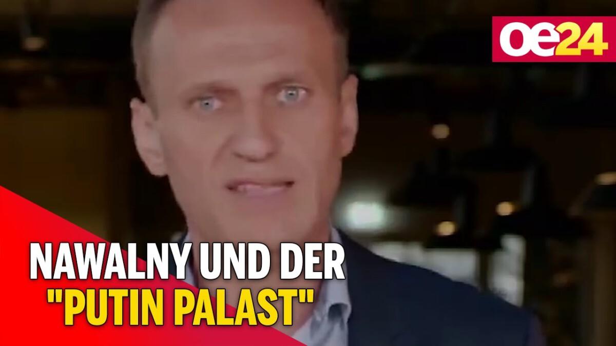 Nawalny und der Putin Palast