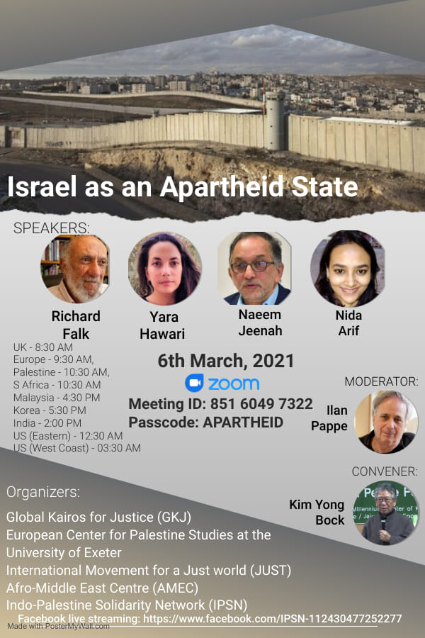 israel is an apartheidstate