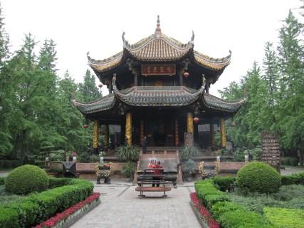 Qingyang Gong Bagua Pavillon